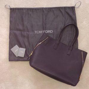 80621378f9 Authentic Tom Ford Jennifer side zip tote bag